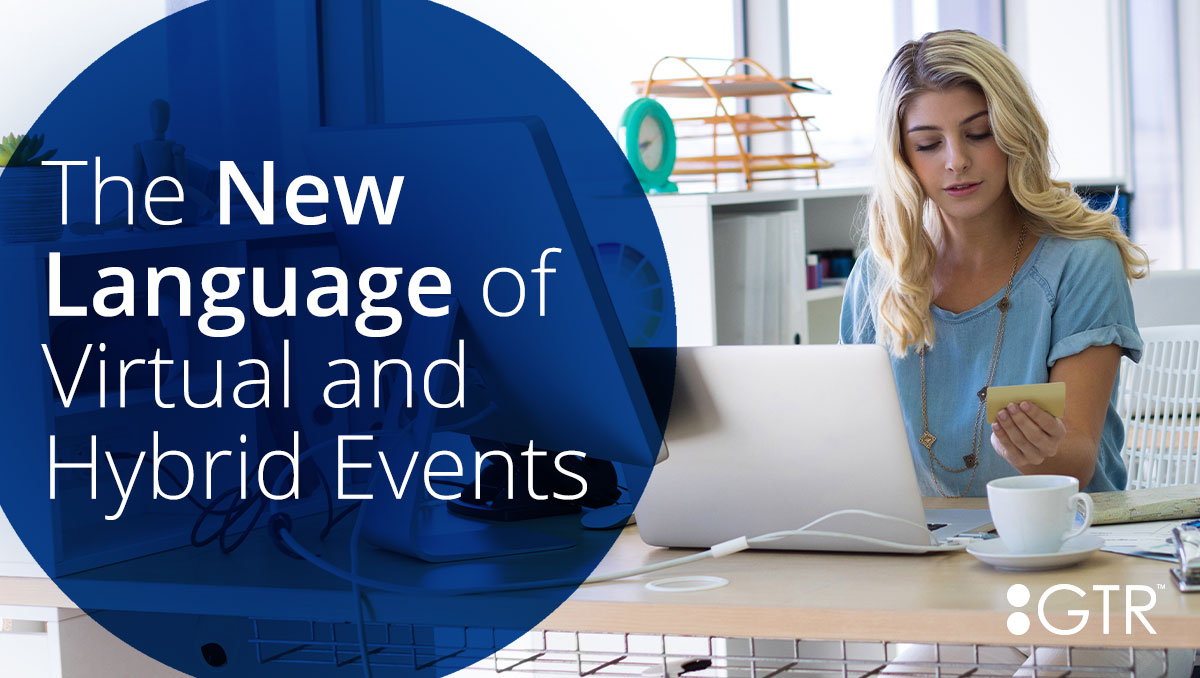 language of virtual and hybrid events