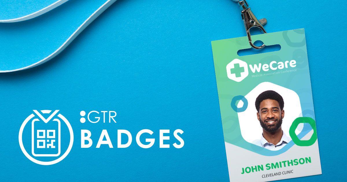 gtr badges - event badge printing