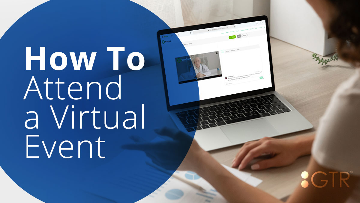 how to attend a virtual event