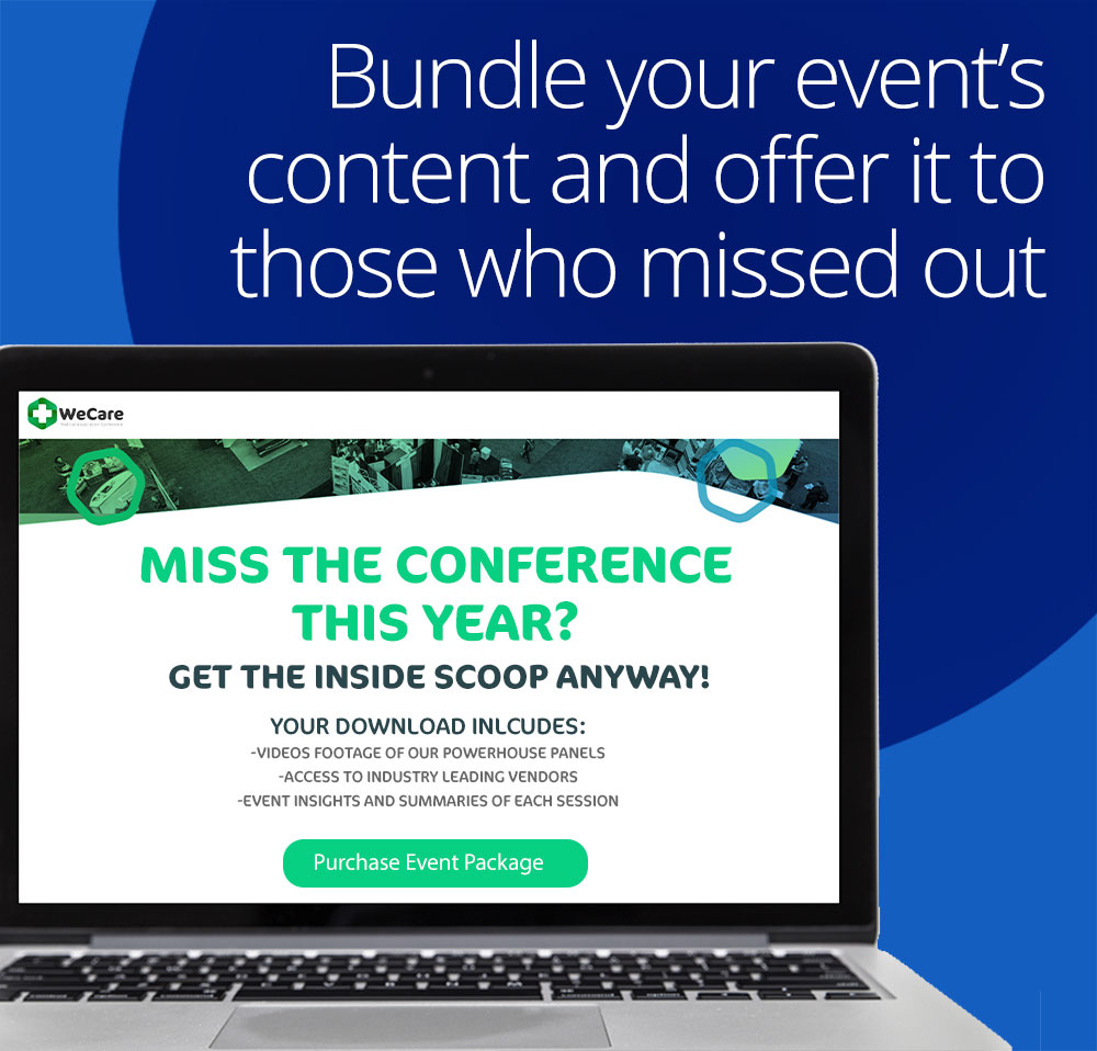 bundle your event's content and offer it to those who missed out