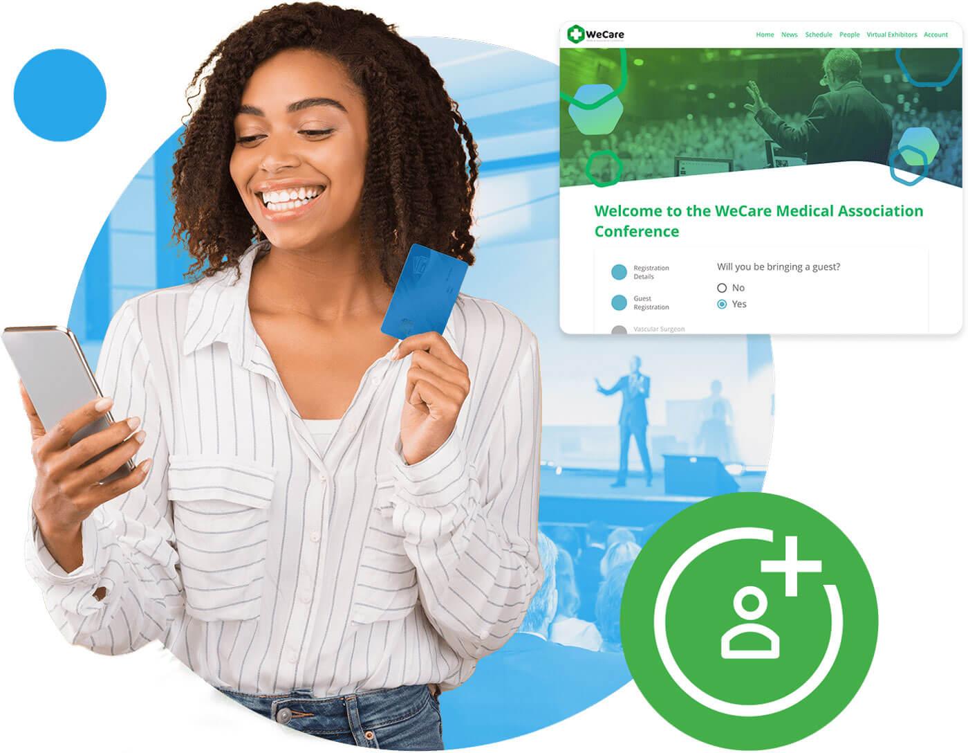 online event registration platform