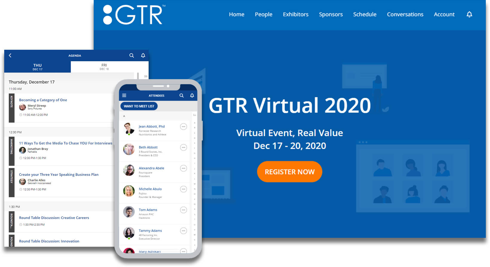 virtual event registration platform